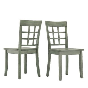 Reviews Alverson Solid Wood Dining Chair (Set of 2) by August Grove Reviews (2019) & Buyer's Guide