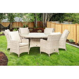 Leopold 6 Seater Dining Set With Cushions Image