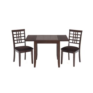 Dinette Table with Tile Top and Drop Leaves by Jofran