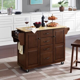 Iyana Kitchen Cart by Charlton Home