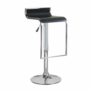 Hudson Adjustable Height Swivel Bar Stool..