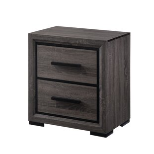 Beaudry 2 Drawer Nightstand by Ivy Bronx Best #1