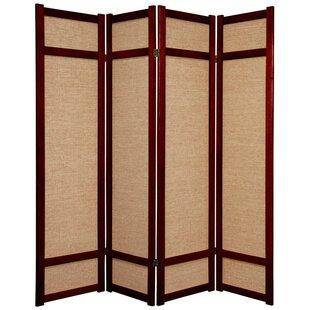 Clarke Shoji 4 Panel Room Divider
