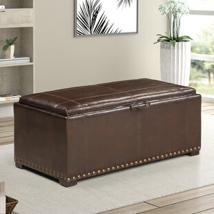 Amiya 3 Piece Storage Ottoman by Charlton Home