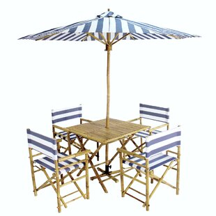 Blue Tropical Patio Dining Sets You Ll Love In 2021 Wayfair