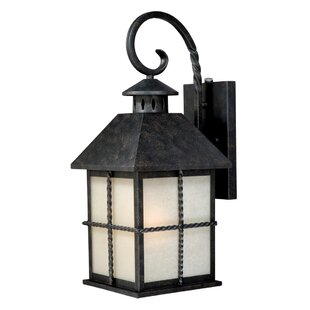 Charlton Home Fearon 1-Light Outdoor Wall Lantern