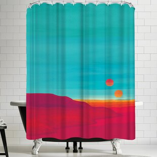East Urban Home Joe Van Wetering Far Away Shower Curtain