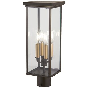 Maultsby Outdoors 4-Light Lantern Head by Gracie Oaks