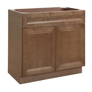 Cottage Birch 24 Single Bathroom Vanity Base by PARRIOTT WOOD