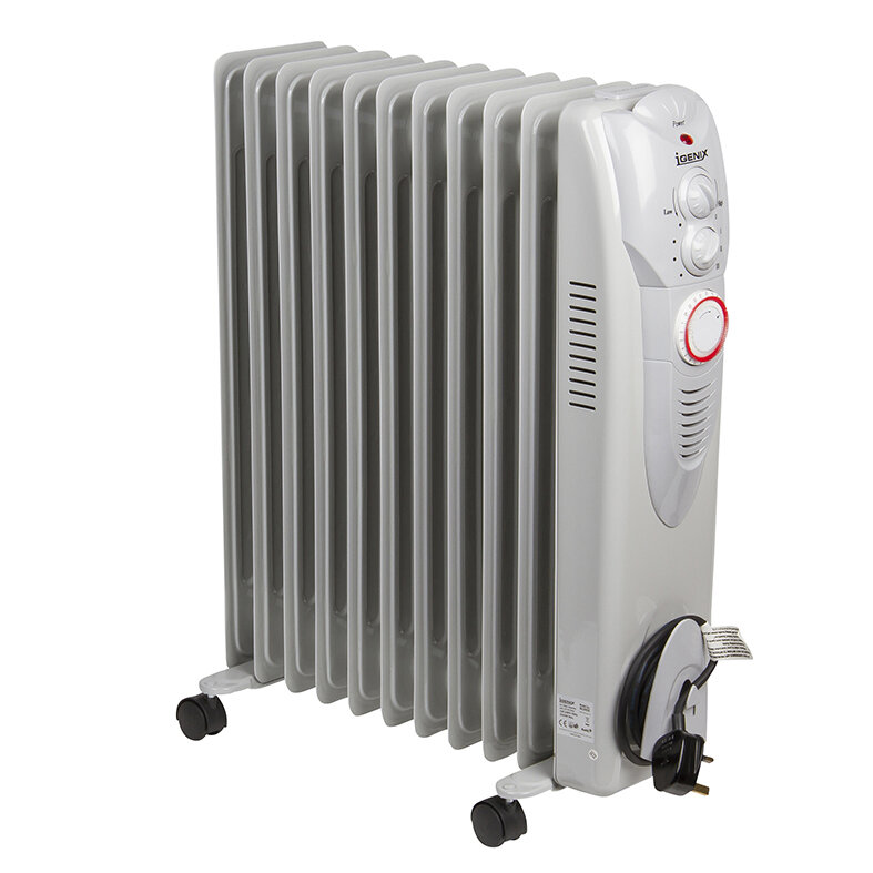 2500 Watt Radiator.Oil Filled 2 500 Watt Portable Radiator Heater With 24h Timer