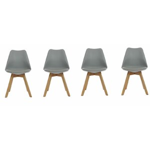 Wodan Upholstered Dining Chair Set Of 4