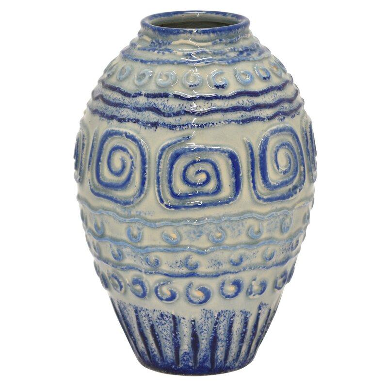 Highland Dunes Derosa Floor Vase Wayfair
