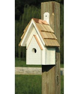 Heartwood Classic 12 in x 6 in x 6 in Birdhouse