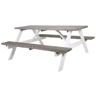 Colville Wooden Picnic Bench By Sol 72 Outdoor