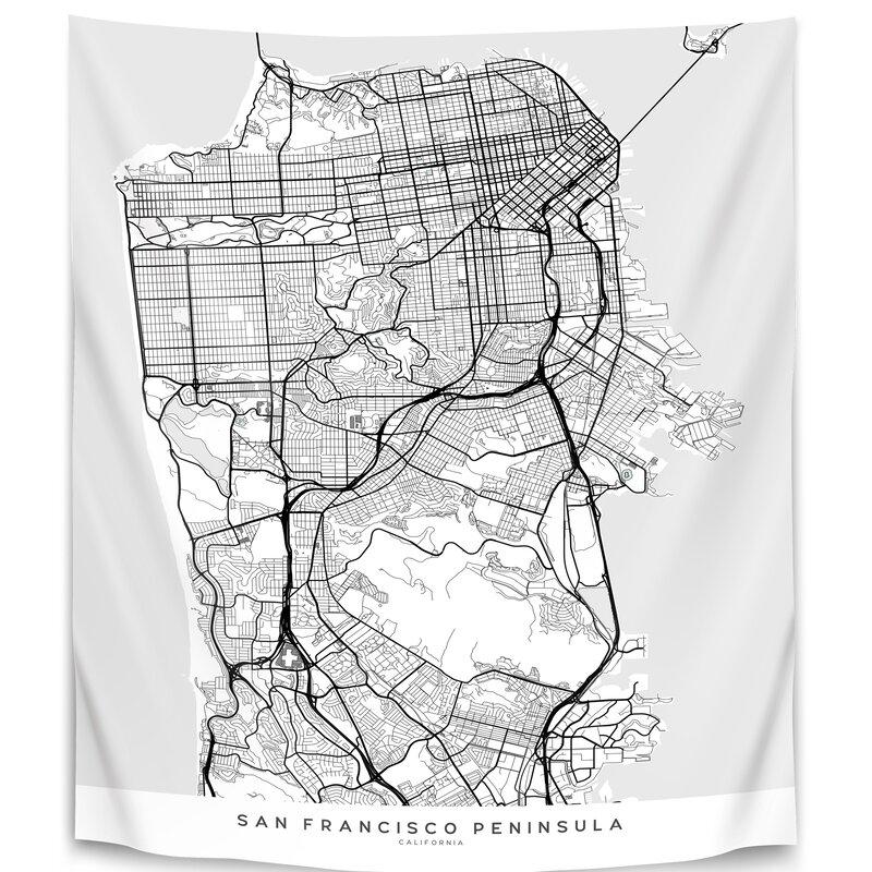 East Urban Home Microfiber Blursbyai Tapestry Wayfair