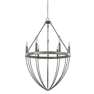Foundry Select Burhall 6-Light Chandelier