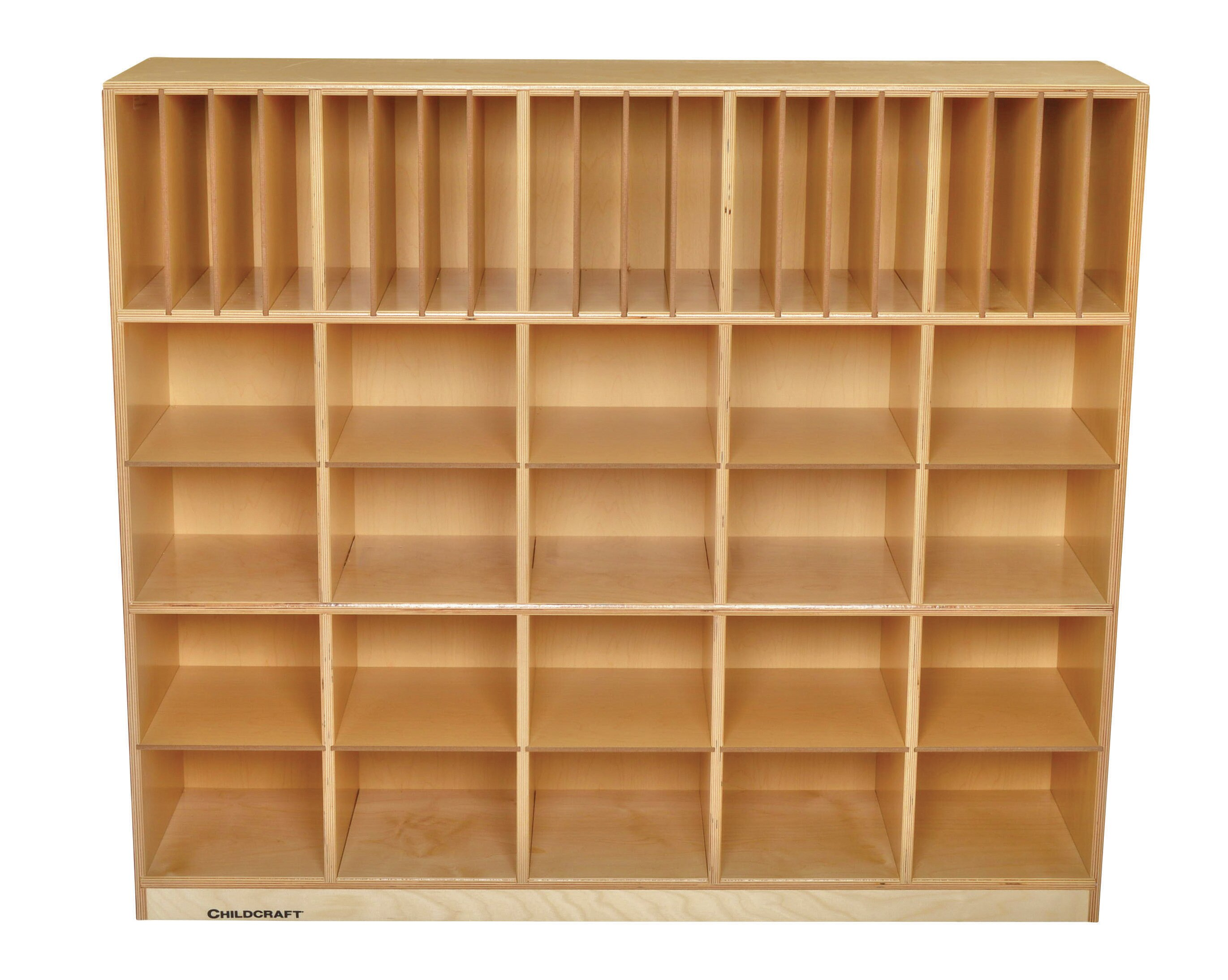 Childcraft 40 Compartment Cubby With Casters Wayfair