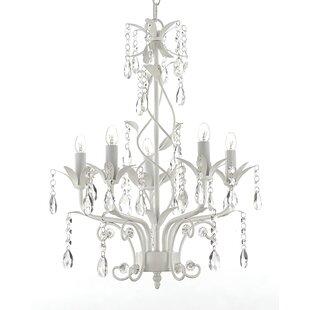 House of Hampton Brondesbury 5-Light Candle Style Chandelier