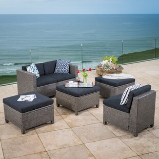 Ballew 6 Piece Sofa Set with Cushions