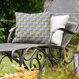 Jaya Basketweave Indoor/Outdoor Throw Pillow