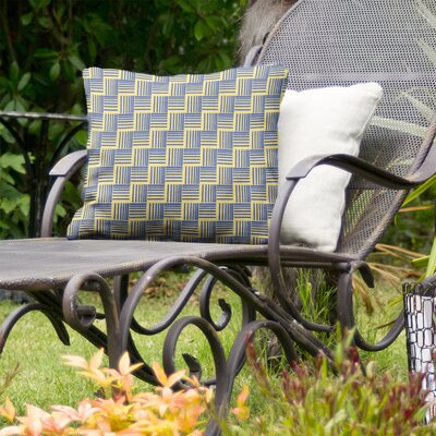 Jaya Basketweave Indoor/Outdoor Throw Pillow by Brayden Studio Today Sale Only