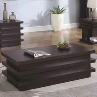 Brayden Studio Rondel Contemporary Wooden 2 Piece Coffee Table Set