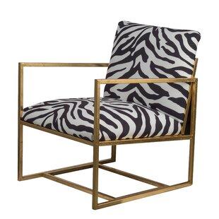 Cardenas Zebra Print Armchair