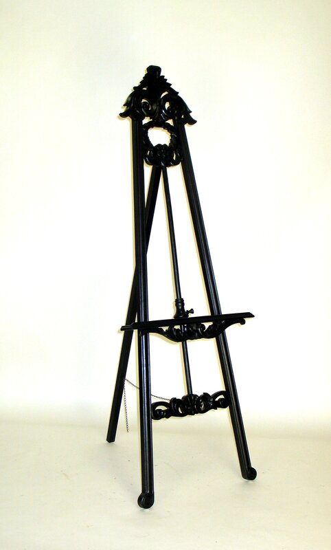 Folding Tripod Easel. Shop Drew's Honeymoon House! {Craft Room: Resource Guide & Sources}