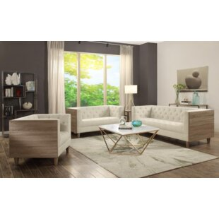 Ivy Bronx Gilley 3 Piece Living Room Set