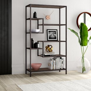 Mccart  Geometric Bookcase by Mercury Row