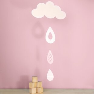 Cloud and Rain Drops Mobile By Trendy Peas