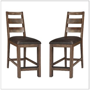 Baulch 24 Bar Stool (Set of 2) Gracie Oaks
