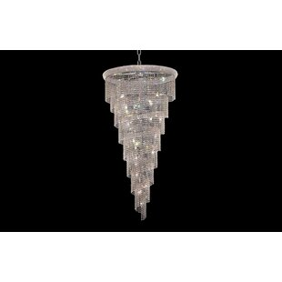 Zonia 26-Light Crystal Chandelier by Hous..