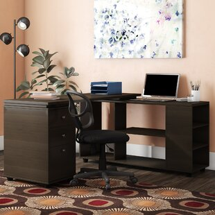 Toby L-Shape Executive Desk by Latitude Run Cool