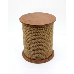 Schaaf Unique Wooden End Table by Breakwater Bay