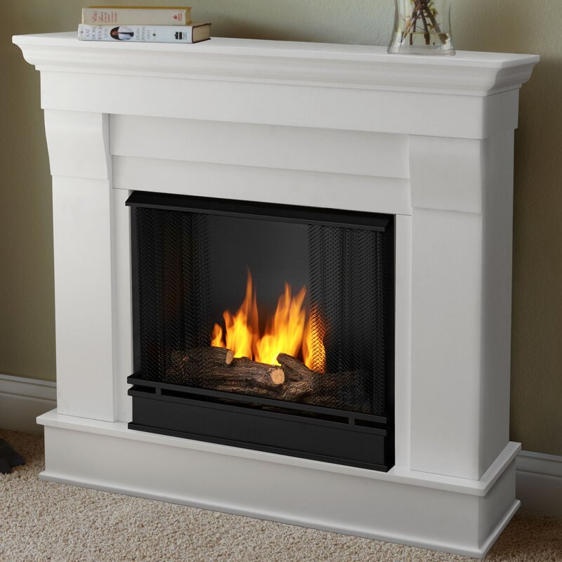 Real Flame Chateau Gel Fuel Fireplace Reviews Wayfair - Ashley gel fireplace fuel