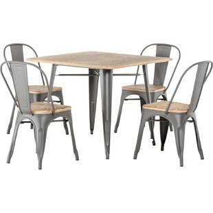 Sheree 5 Piece Dining Table Set by 17 Sto..