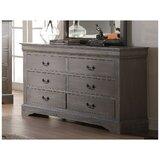 Riddleville 6 Drawer Double Dresser by Red Barrel Studio®