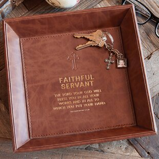 Reviews Handsome Faithful Servant Deuternomy 15:10 Accessory Tray ByCB Gift