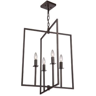 Artcraft Lighting Allston 4-Light Square/Rectangle Pendant
