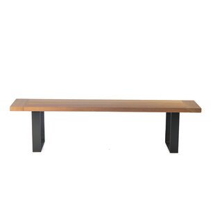 Quinn Wood Bench By Williston Forge