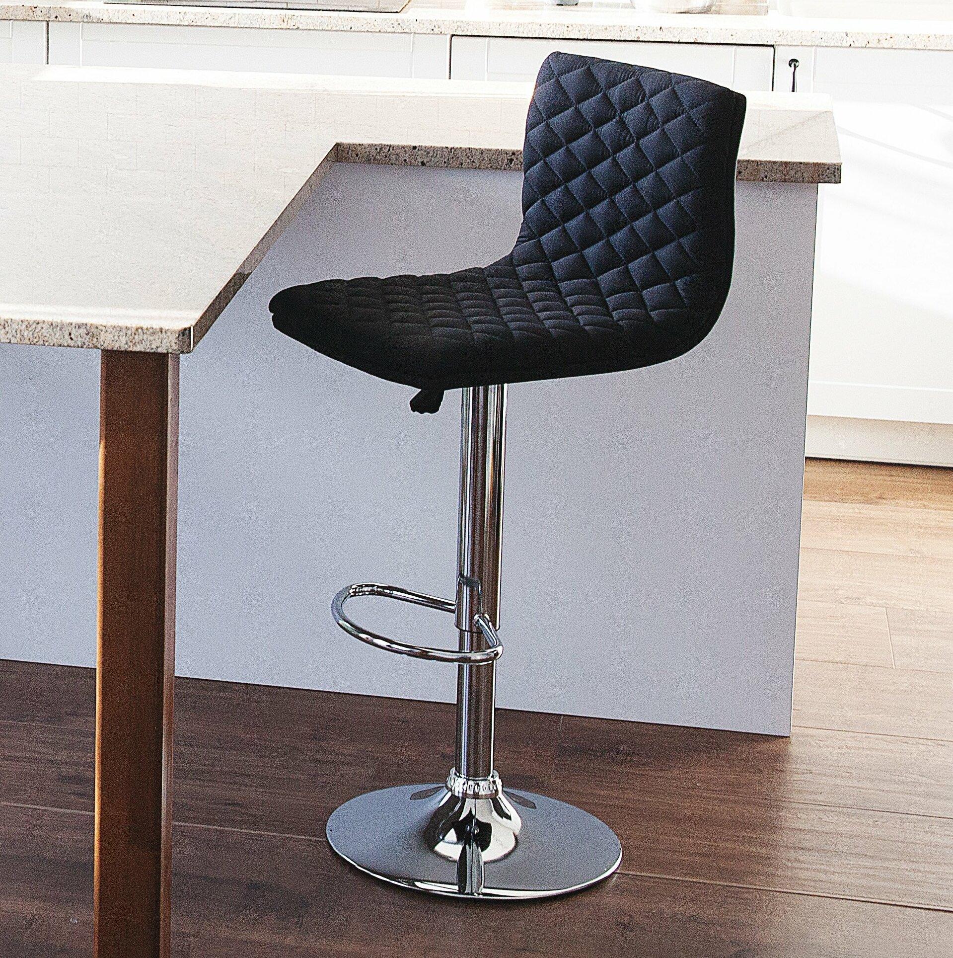 Prime Bonnette Adjustable Height Swivel Bar Stool Theyellowbook Wood Chair Design Ideas Theyellowbookinfo