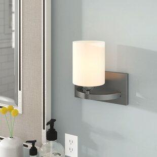 Cusack 1-Light Bath Sconce by Ebern Designs