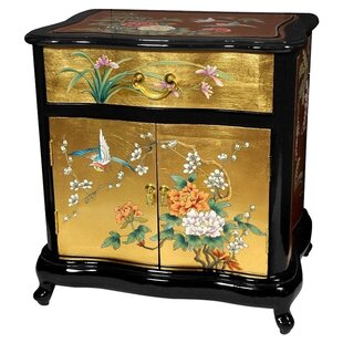 World Menagerie Camille End Table with Storage