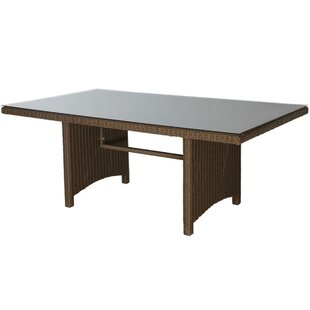 Goodrich Rattan Dining Table By Sol 72 Outdoor