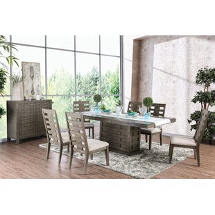 Gisla 7 Piece Extendable Dining Set World Menagerie