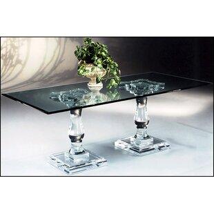 Muniz Corinthian Double Pedestal Dining T..