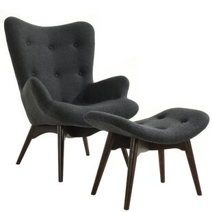 Auzzie Lounge Chair and Ottoman by Edgemod