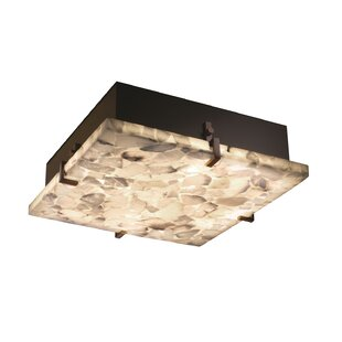 Rosecliff Heights Conovan 4-Light Square Flush Mount