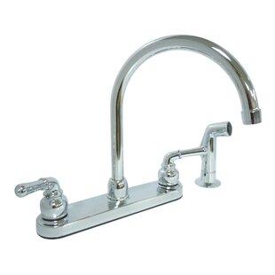 Dominion Faucets Double Handle Kitchen Faucet